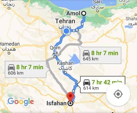 بلیط اتوبوس رفت و برگشت اصفهان به آمل با ارزانترین قیمت