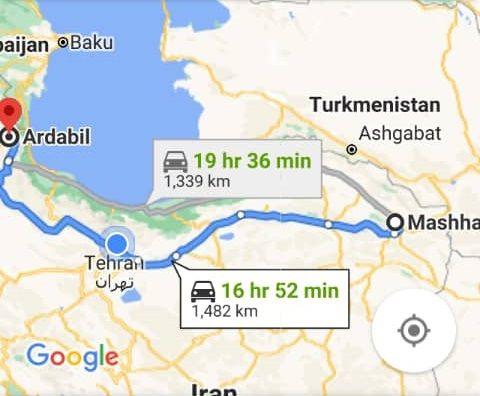 بلیط اتوبوس رفت و برگشت مشهد به اردبیل با ارزانترین قیمت