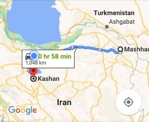 رزرو بلیط اتوبوس مشهد تا کاشان و و کاشانبه مشهد