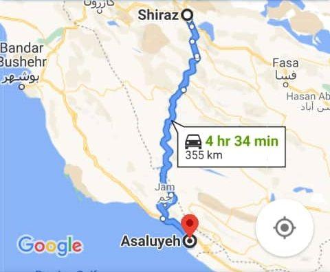 بلیط اتویوس رفت و برگشت عسلویه به شیراز با ارزانترین قیمت