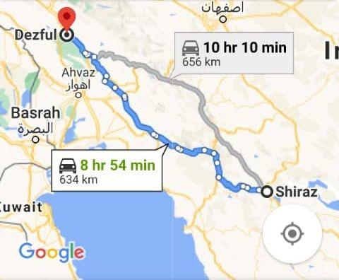 بلیط اتویوس رفت و برگشت دزفول به شیراز با ارزانترین قیمت