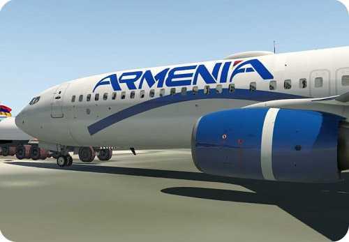 نمایندگی و دفتر اصلی و تهران هواپیمایی ارمنستان - ارمنیا ایر کمپانی و آرمنیا ایرویز در قاره پیما
